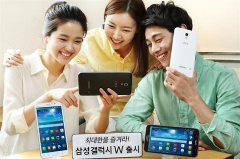 Samsung Galaxy W 01